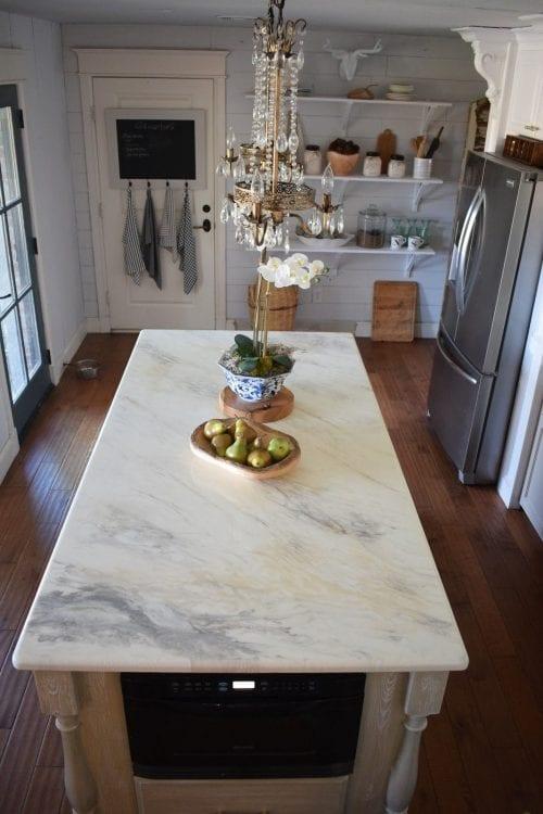 Marble Countertop using Countertop FX