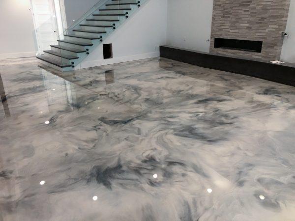 Metallic FX Epoxy Floor